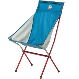 Big Agnes Big Six Silla Camping, blue/gray